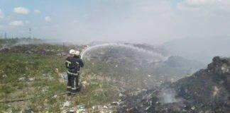 Біля Миколаєва палає сміттєзвалище - today.ua