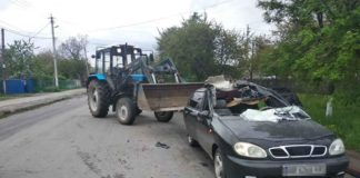 Под Винницей трактор столкнулся с Daewoo Lanos: пострадала несовершеннолетняя - today.ua