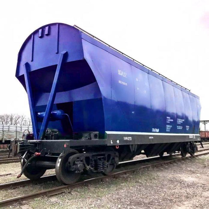 Укрзалізниця побудувала свій перший вагон-зерновоз - today.ua