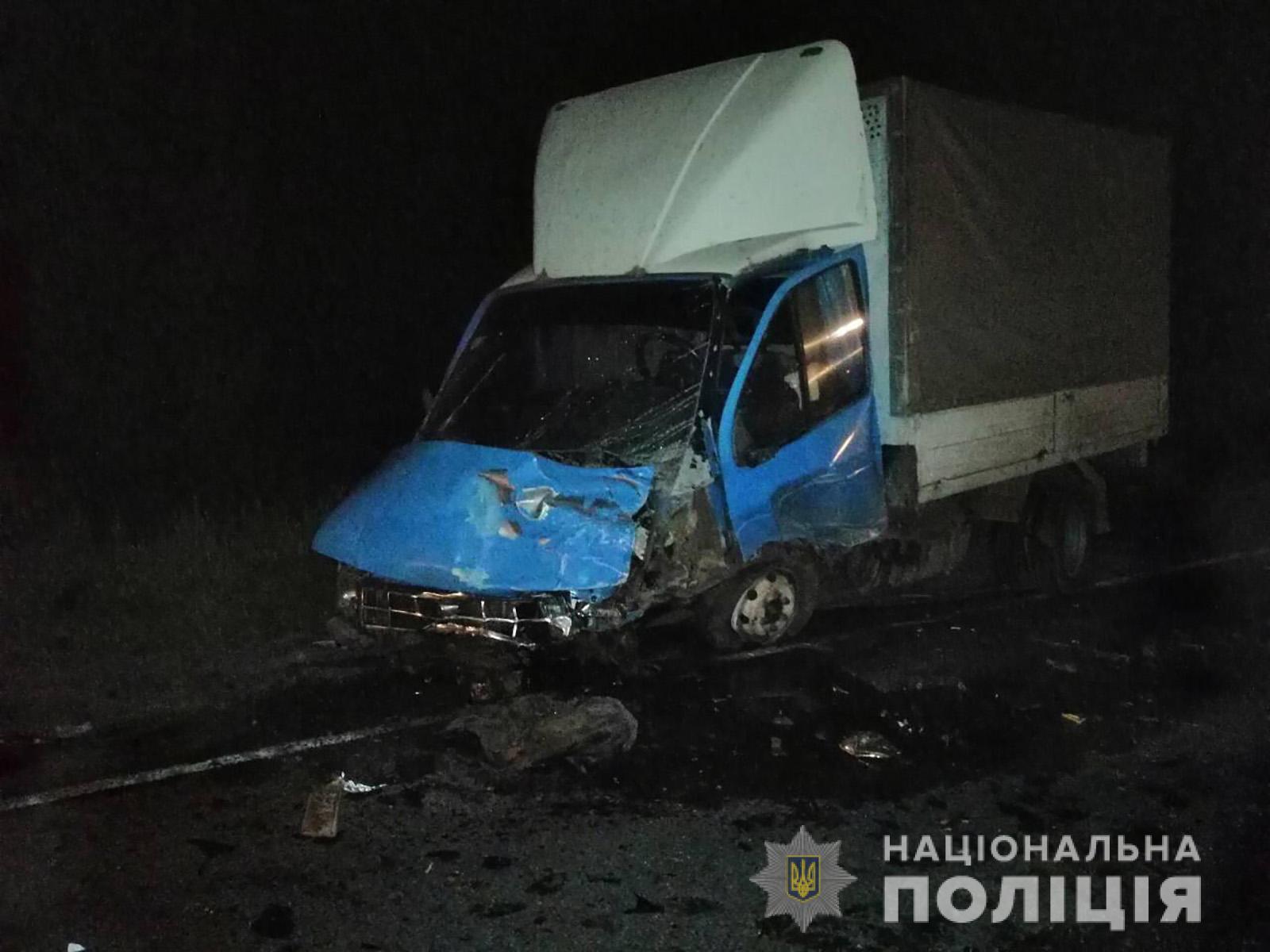 Під Запоріжжям сталося лобове зіткнення двох автівок: опубліковані фото