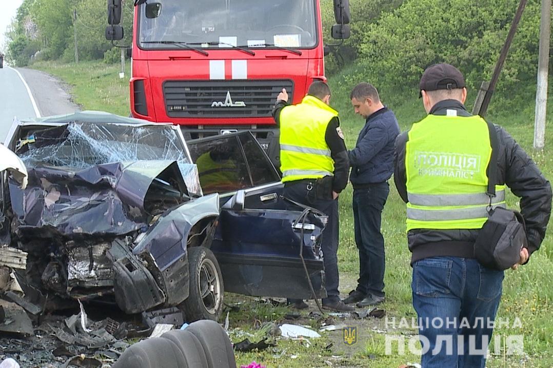 На Вінничині сталася смертельна ДТП: загинули четверо людей