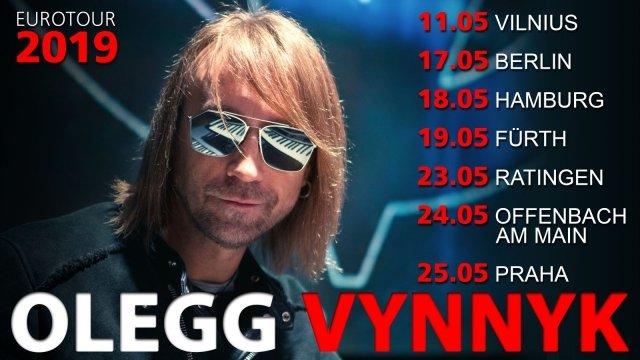 Олег Винник повертається працювати у Німеччину