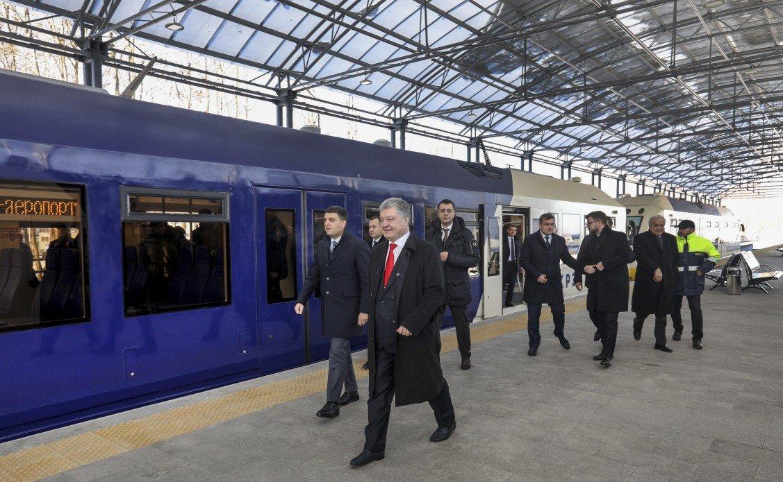 """Укрзалізниця запускає оновлений експрес до аеропорту """"Бориспіль"""" - today.ua"""