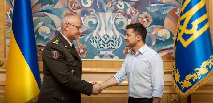 Зеленский назначил Главнокомандующего ВСУ - today.ua