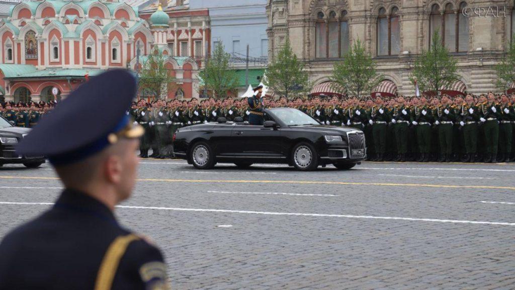 """Путін на параді в Москві назвав Київ """"російською столицею"""""""