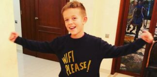 Потап похвастался достижениями своего 10-летнего сына - today.ua