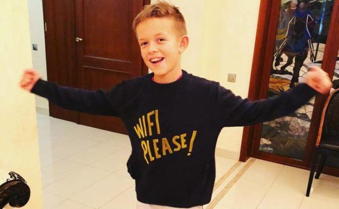 Потап похвалився досягненнями свого 10-річного сина - today.ua