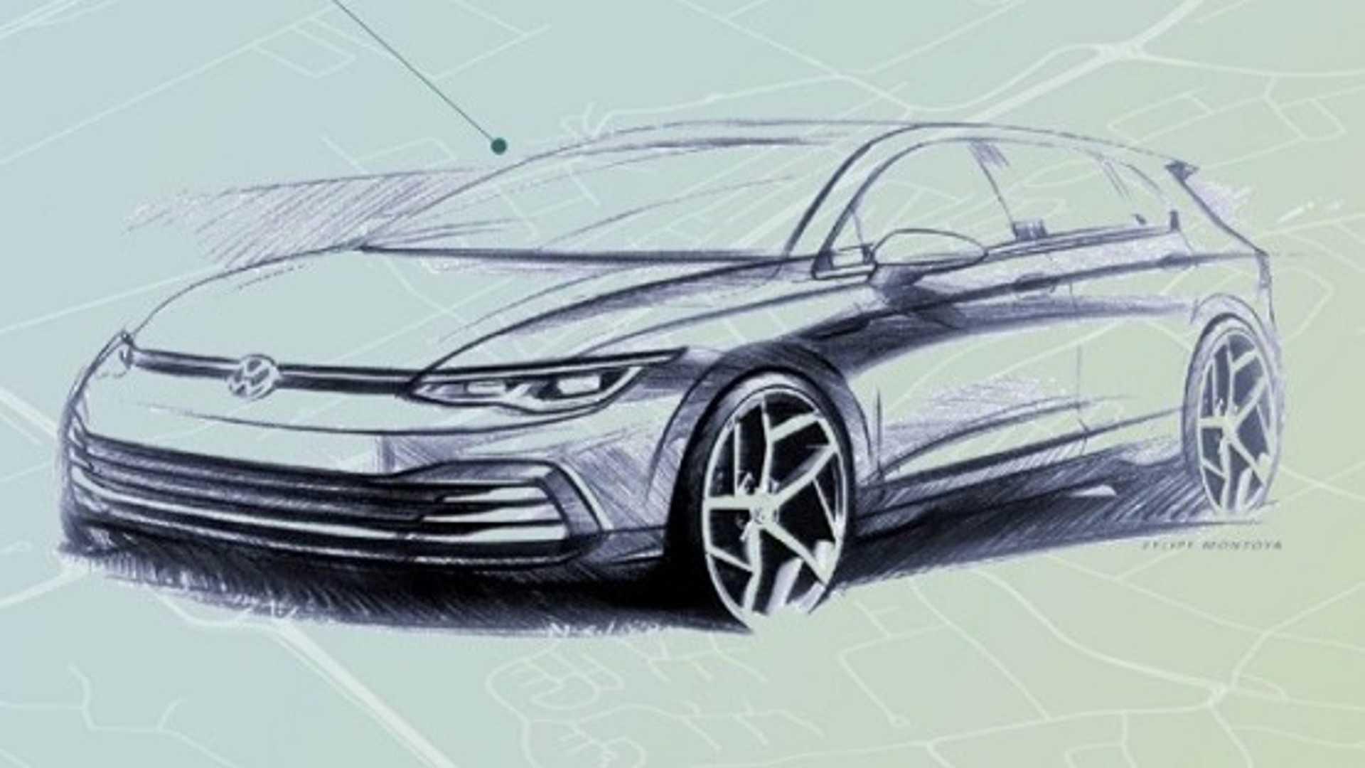 Volkswagen представил новый хэтчбек Golf VII