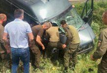 Нацгвардійці, що поверталися з зони ООС, врятували громадян, які потрапили в ДТП - today.ua