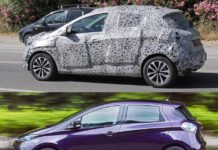Renault Zoe другого покоління сфотографували під час тестів - today.ua