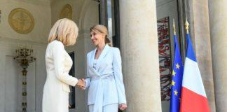 Дружина Зеленського зустрілася з першою леді Франції: про що говорили - today.ua