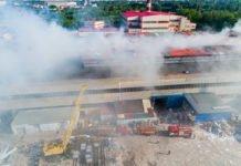 У Дніпрі палає завод по виготовленню туалетного паперу - today.ua