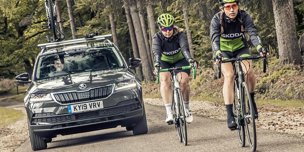 Skoda представила кросовер для велосипедистів