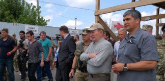 Кучма наблюдал, как возле Станицы Луганской разбирали блиндажи ВСУ - today.ua