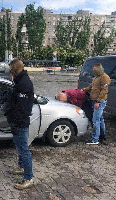 В Мариуполе задержали офицера запаса, который работал на ФСБ РФ