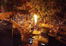 В Киеве взрывом разрушило три гаража - today.ua