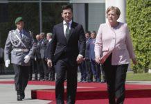 Зеленський обговорив з Меркель ситуацію на Донбасі - today.ua