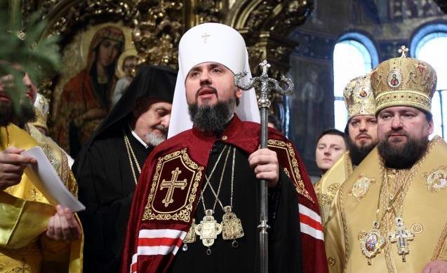 Епифаний сообщил, чего добивается Филарет - today.ua