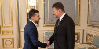 Зеленський вперше зустрівся з головою ОБСЄ: про що говорили - today.ua