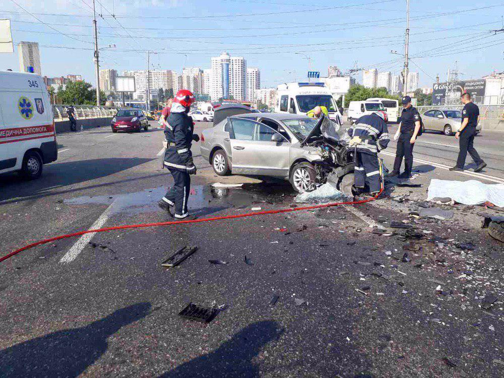 У Києві сталася смертельна ДТП, в якій загинуло четверо людей