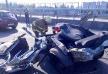 В Киеве произошло смертельное ДТП, в котором погибли четверо людей - today.ua