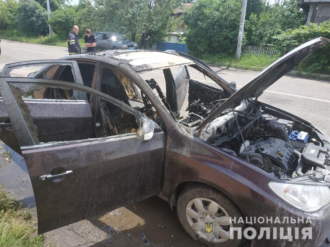 Под Киевом в салоне авто взорвался газовый баллон: пострадал 3-летний ребенок