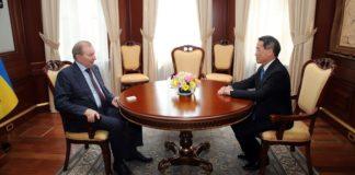 """Кучма обговорив з послом Японії війну на Донбасі"""" - today.ua"""