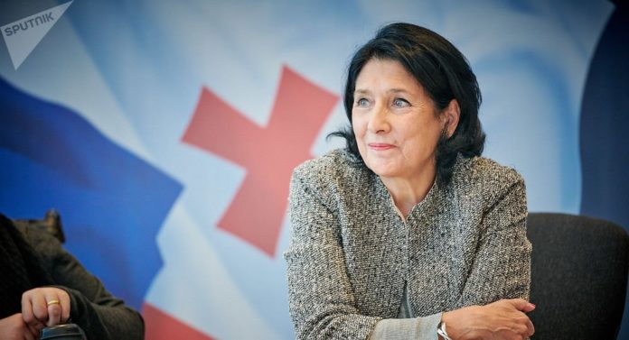 Президент Грузии обратилась к руководству РФ в связи с матерными высказываниями Габунии в адрес Путина - today.ua