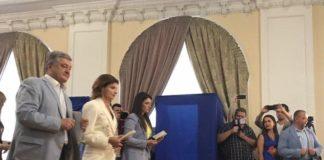 """""""Я проголосовал за ЕС, за НАТО"""": Порошенко вместе с семьей пришли на выборы"""" - today.ua"""