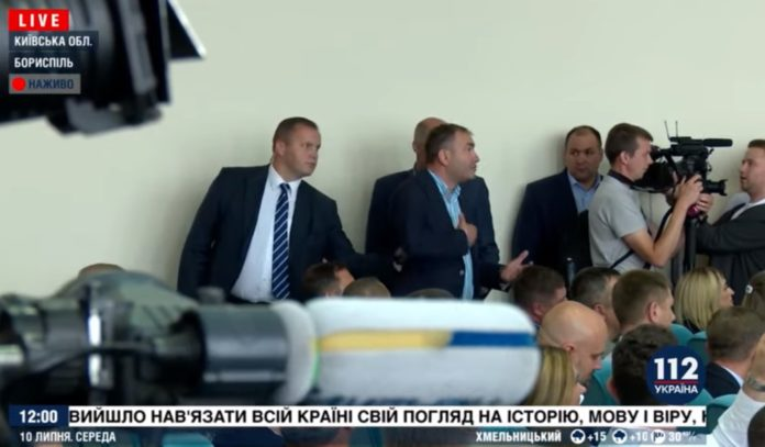 """&quotВийди звідси, розбійник ти!"""": Зеленський вигнав з наради секретаря Бориспільської міськради Ярослава Годунка - today.ua"""