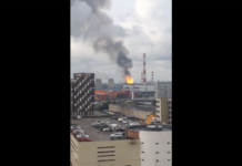 Під Москвою палає електростанція: опубліковано шокуючі відео - today.ua