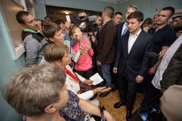 """&quotЯкийсь концтабір"""": Зеленський мало не розплакався в бориспільській лікарні - today.ua"""