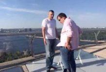 """Побережись! Скандальний """"міст Кличка"""" тріщить по швах - today.ua"""