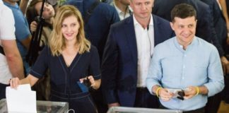 """""""Выбор сделан"""": Елена Зеленская показала фото с голосования на участке - today.ua"""