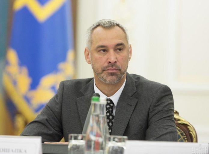 Рябошапка назвав свої перші кроки на посаді генпрокурора