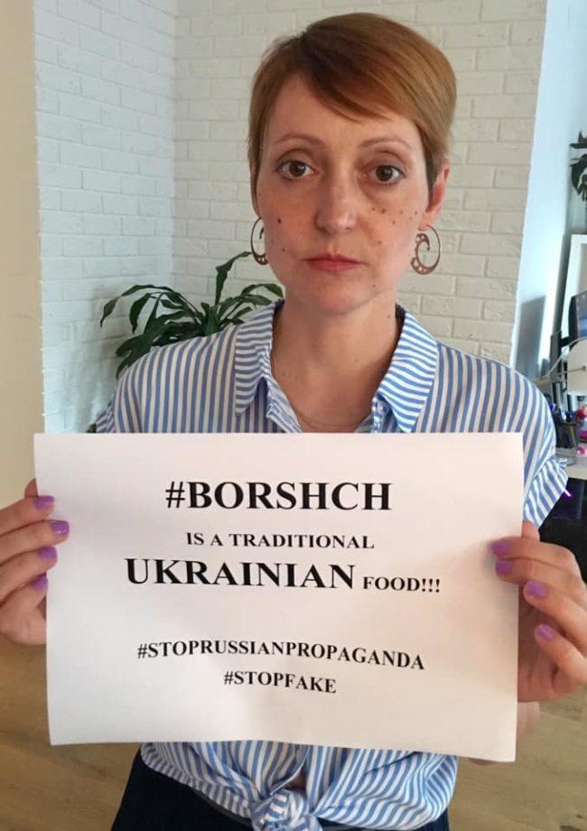 """""""Не чіпайте борщ"""": українка запустила флешмоб на захист національної страви"""