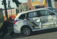 Еще одно ДТП при участии патрульных: в Сумах ГАЗ влетел в служебную Mitsubishi - today.ua