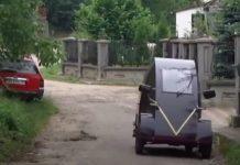 Электромобиль за 1300 евро: украинский пенсионер создал уникальное транспортное средство - today.ua