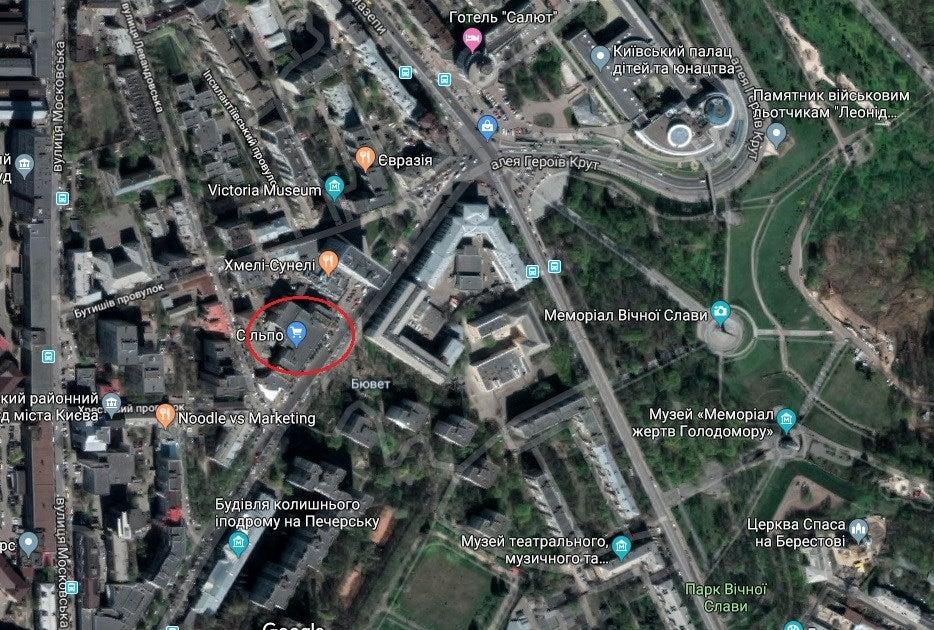 Кличко дозволив будівництво 25-поверхової споруди біля Лаври - today.ua