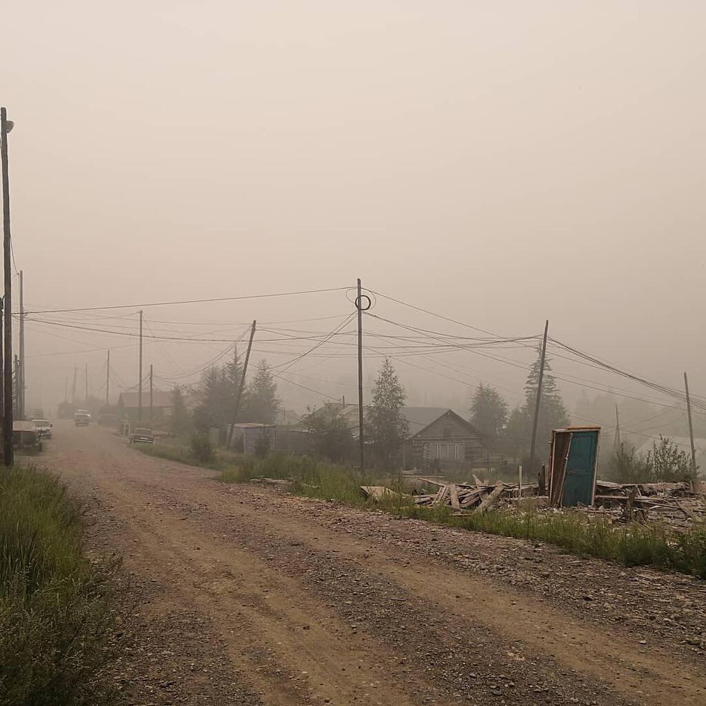 """""""Цензурні слова закінчились"""": дим від масштабної пожежі в Росії дійшов до Республіки Комі"""