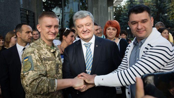"""&quotУкраїна плаче"""": як пройшов Марш захисників при підтримці Порошенко - today.ua"""