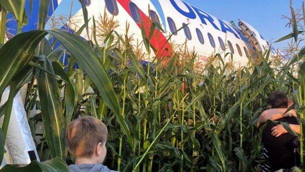 Аварія літака в Підмосков'ї: з'явилися шокуючі подробиці - today.ua