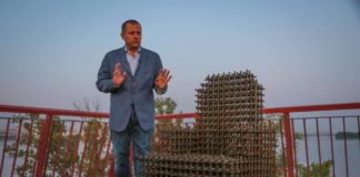 Зеленский проиграл пари: Филатов открыл отремонтированный мост в Днепре - today.ua