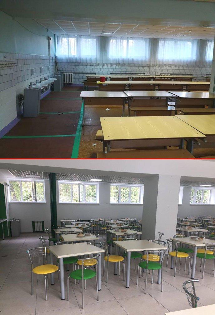 """Тищенко обурився через """"дерибан коштів"""" в управлінні освіти, але не дійшов до відремонтованих приміщень у школі"""