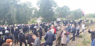 Жорстокий розгін учасників акції проти вугілля з Росії на Львівщині: нові подробиці - today.ua