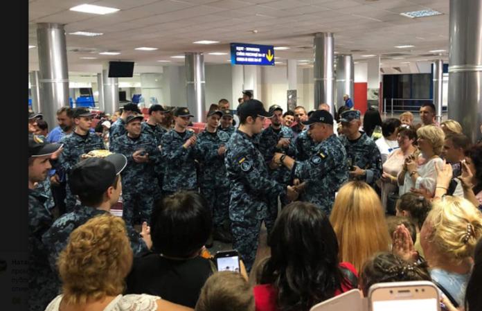 """&quot286 днів неволі"""": Звільненим українським морякам вручили нагороди - today.ua"""