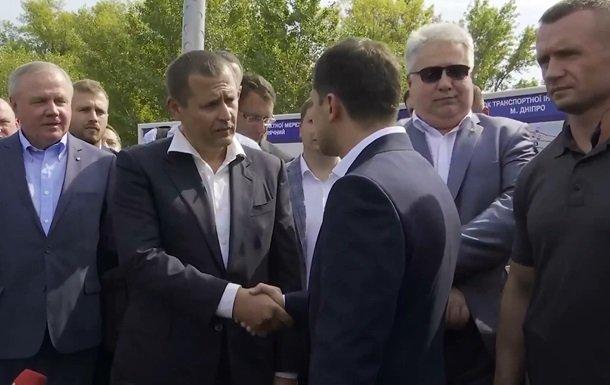 """""""Є дві новини..."""": Зеленський з Філатовим перевірили міст у Дніпрі  - today.ua"""