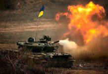 У мережу потрапило відео нищівного удару ЗСУ по позиціях бойовиків на Донбасі - today.ua