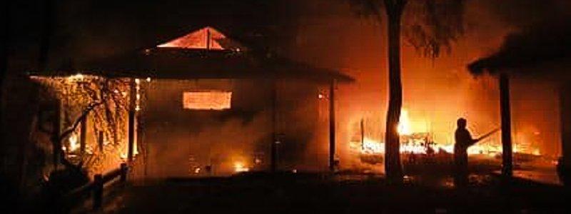 """""""Помста Коломойського"""": Гонтарева заявила про підпал свого будинку під Києвом"""