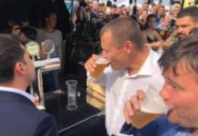 Отгуляли по полной: Филатов и Зеленский хильнули пивка (видео) - today.ua